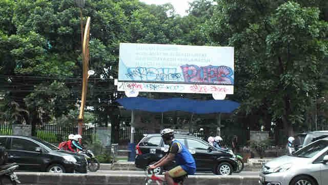 Menuju RS PMI Bogor