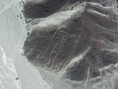 Nazca Lines (SqueakyMarmot) Tags: travel peru southamerica desert flight aerial birdseyeview nazcalines nazca geoglyphs 2015