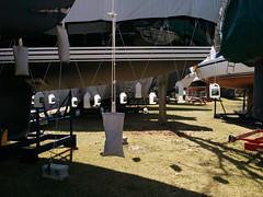 april tarps n bottles (Theia RCYC) Tags: sailing theia 2015 rcyc j100 burlcrone