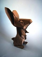 Cartoon Rabbit - Andrs Lozano (Rui.Roda) Tags: origami papiroflexia papierfalten conejo coelho lapin cartoon rabbit andrs lozano