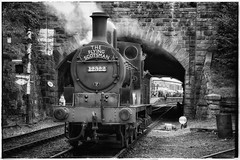 What's in a name.. (Yngwie87) Tags: blackwhite steamlocomotive 1896 horwich eastlancashirerailway aspinall 12322