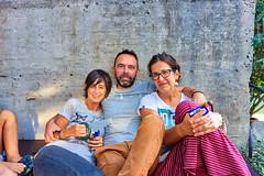 09-18-2016 18 22 59 (Pepe Fernndez) Tags: grupo fotodegrupo amigos reunin pandilla xuntanza raquel martin martn martio lupy lupita