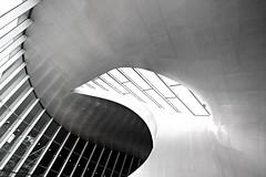 twister (Fotoristin - blick.kontakt) Tags: arnhem arnheim station architecture benvanberkel lines curves abstract blackandwhite light twister fotoristin