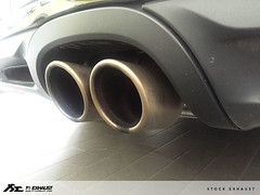 Installation of Porsche 981 Cayman with Fi Exhaust ! (Fi Exhaust) Tags: porsche 981 cayman fiexhaust frequency intelligent exhaust system titanium blue dual tips design vietnam