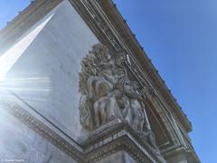 Angle sculpture Arc de Triomple (alexandrarougeron) Tags: ville sculpture capital paris triomphe arc arcdetriomphe