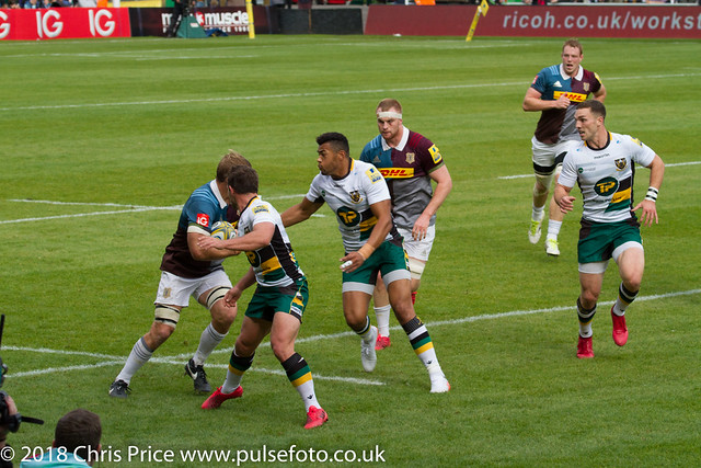 Quins 20 Northampton 7 Aviva Premiership 8th Oct 2016