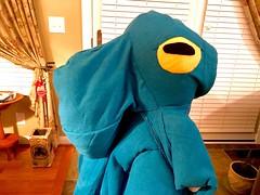 Octopus Halloween costume (tenhourclock) Tags: handmade aquaticlife sealife skirt hoodie octopus halloweencostume halloween costume