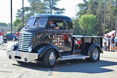 52nd Annual LA Roadsters Show (USautos98) Tags: gmc coe cabover hotrod streetrod custom