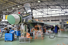 DSC_0045 (Tim Beach) Tags: wzl maintenance facility bydgoszcz poland polish air force su22 fitter mig29 mikoyan