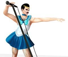Killer Queen (Winter Jefferson) Tags: freddiemercury sailormoon halloween secondlife costume cosplay queen winterjefferson