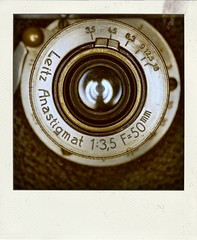 Leitz Anastigmat Lens (Leo Reynolds) Tags: xleol30x poladroid polaroid faux fauxpolaroid fake fakepolaroid phoney phoneypolaroid camera nottakenbyme