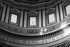 SUPER HANC PETRAM (cinotosi) Tags: rome rom vatican collosseum vatikan papst pope church stpeter petersplatz circusmaximus museivaticani history ancient