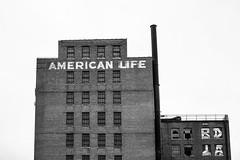 American Life (Thomas Hawk) Tags: alabama america americanlife americanlifebuilding birmingham usa unitedstates unitedstatesofamerica abandoned bw fav10