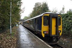 15469 Kirkby, Merseyside (Paul Emma) Tags: ukengland merseyside kirkby railway railroad dieseltrain train 156469
