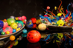 Lifeboat (LynxDaemon) Tags: boat glass chihuly chihully marble color abstract psychedelic imaginary reflection black growth