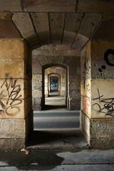 Doors to Neverwhere 1 (Kojotisko) Tags: panasoniclumixdmcft2 streetphoto streetphotography brno tunnel czechrepublic czechia creativecommons