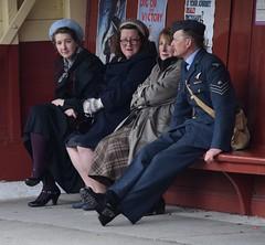 DSC_0307a (robindefoe2009) Tags: nymr wartime weekend 1940s heritage steam railway north yorks moors pickering levisham le visham goathland grosmont whitby stockings military reenactment reenactors