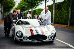 Barrie Baxter and Andy Priaulx - 1965 Maserati Tipo 151/3 at the 2016 Goodwood Revival (Photo 1) (Dave Adams Automotive Images) Tags: 2016 9thto11th autosport car cars circuit daai daveadams daveadamsautomotiveimages grrc glover goodwood goodwoodrevival hscc historicsportscarclub iamnikon lavant motorrace motorracing motorsport nikkor nikon period racing revival september sussex track vscc vintage vintagesportscarclub davedaaicouk wwwdaaicouk barriebaxter andypriaulx 1965maseratitipo1513berlinetta 1965 maserati tipo 1513 berlinetta