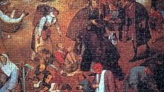 Fight Between Carnival and Lent (P. Bruegel), EDUCA, 4000 (Fabrofer) Tags: bruegel puzzle 4000 educa carnival lent