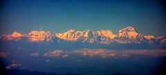 NEPAL, Flug über den Wolken entlang dem Himalaya-Gebirge von Varanasi nach Kathmandu , 15003/7634 (roba66) Tags: nepalflugentlangdemhimalayagebirge reisen travel explore voyages roba66 nepal asien asia südasien himalaya gebirge mountain berge range naturalezza mountains montana felsen rock rocks gletscher eis ice