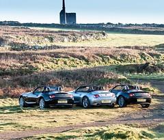 Zeds In Cornwall (Jon Sharp) Tags: nikon d3 28300mm levant cornwall car bmw z4 alpina z4m
