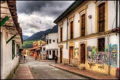 La Candelaria, Bogota, Colombia (Guanabana3) Tags: 2011 bogota buildings canon7d city colombia cundinamarca detailsenhancer hdr imagenomic lacandelaria nikcolorefex nikviveza2 noiseware photomatix street urban