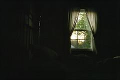 Maine, USA (InSoManyWords) Tags: maine usa bedroom morning film 35mm fujisuperia200 fujifilm rollei35
