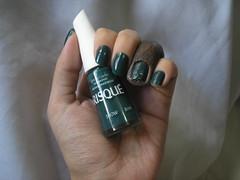 Show (Risqué) (Daniela nailwear) Tags: show risqué verde cremoso esmaltes mãofeita