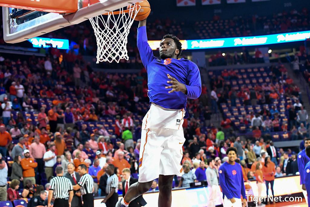Clemson Photos: Legend  Robertin, 20162017, Basketball, Georgia