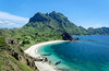 A lonely boat - Padar Island, Komodo archipelago, Indonesia (Maria_Globetrotter) Tags: 2016 fujifilm indonesia mariaglobetrotter dscf4162 landscape unesco world heritage site amazing cool