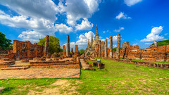 The Historical Park in Ayutthaya (technodude67) Tags: amazingthailand architecture asia asiatrip discoverasia discoverthainess igthailand igtravel ilovethailand instadaily instagood instatravel instatrip lostinthailand monument th thailand thailandtrips thailover tourism travel trip turismo unlimitedthailand viaggiare viaggio wallpaper widescreen