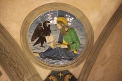 San Giovanni Evangelista attr. a Filippo Brunelleschi, 1445 ca. (Matteo Bimonte) Tags: tondo arte art cappellapazzi pazzi filippobrunelleschi brunelleschi firenze florence rinascimento evangelista