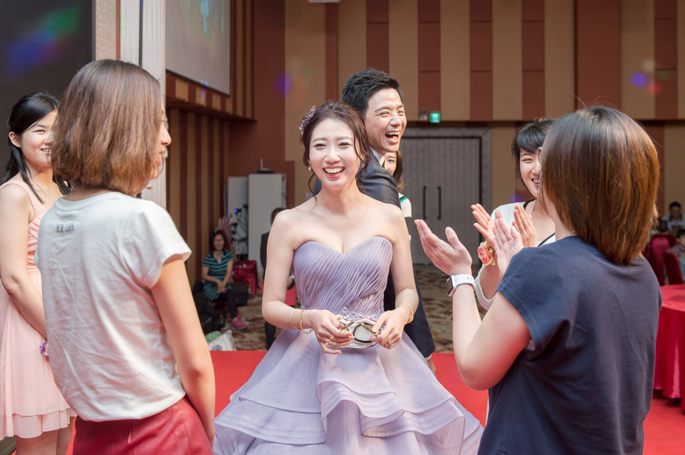 台南婚攝 婚禮紀錄 情定婚宴城堡 C & M 151