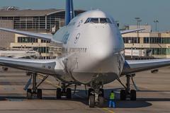 D-ABYA - Boeing 747-830 - Lufthansa (Bjoern Schmitt) Tags: dabya lufthansa boeing 747830 cn 37827 1443 fra frankfurt eddf 7478i 747 taxi