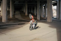 Gravelly Hill Interchange 2 (Andy Feltham...) Tags: pentax k1 smcpentaxfa43mmf19limited bike spaghettijunction gravellyhillinterchange streetphotography