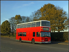 For Weedon, read - - ------ (Jason 87030) Tags: weedonbec school comprehensive learning village southbrook northants northamptonshire daventry royaloakway autumnal display kids children education afternoon duty volvo olympian exdublinbus hunters doubledecker red