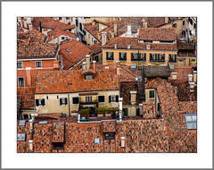 Dachlandschaft (roofscape) (alfred.hausberger) Tags: dach dachlandschaft venedig sanmarco campanile