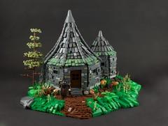 Hagrid´s Hut (Wookieewarrior) Tags: harry potter hagrids hut hogwarts lego moc model face