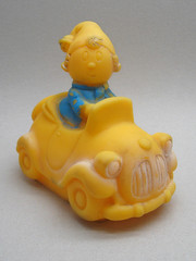 Vintage Noddy (The Moog Image Dump) Tags: noddy car vehicle vintage toy squeaker ireland cute kawaii enid blyton