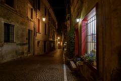 Asolo street by night (scapin.diego) Tags: asolo night longexposure veneto urban architecture lamppost nikon nikond7100 tokina tokina1116