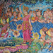 Murals at Neang Kok Temple, Koh Kong