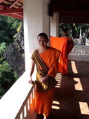 Luang Prabang Budhist Monks (Al's photos..) Tags: monk laos luangprabang budhist 2010 alsphotos budhistmonks
