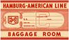Hapag / luggage label (Oldimages) Tags: voyage tag couleur tourisme hapag croisiere paquebot hamburgamericanline hamburgamerikalinie etiquetteabagage