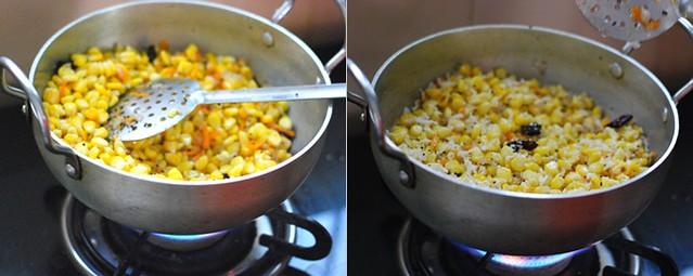 How to make sweet corn sundal 2