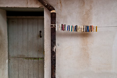 Clips (TheSpaceWalker) Tags: life door wood old italy color art wall composition vintage photography photo wire nikon pipe pic clip sp 1750 tamron calabria vibrance nocera terinese d3100 thespacewalker