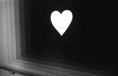 Heart (Dan Chippendale) Tags: blackandwhite film 35mm scan yashica neg yashicaelectro35gt
