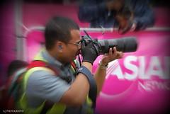 Bandashing (a j s y l h e t i) Tags: camera england black radio canon asian manchester photographer photograph bbc glove earplugs sylhet bangladesh mega mela bbcasiannetwork bandashing