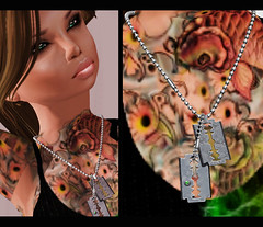 Razor Dog Tags - MG new release (Danielle Livadi) Tags: mg essentialsoul meghindos