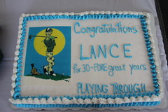 City Manager Lance Hudnell's retirement reception