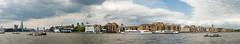 Wapping Riverside Panorama (cybertect) Tags: bridge panorama london towerbridge river riverthames e1 rotherhithe wapping se1 se16 londone1 oliverswharf londonse1 shardofglass phoenixwharf theshard londonbridgetower gunwharves londonse16 canonfd20mmf28 wappingpolicestation panasonicg2